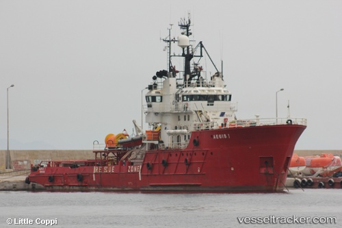 vessel Aegis I IMO: 7392957, Offshore Tug Supply Ship