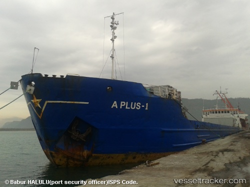 vessel A Plus 1 IMO: 7811032, General Cargo Ship