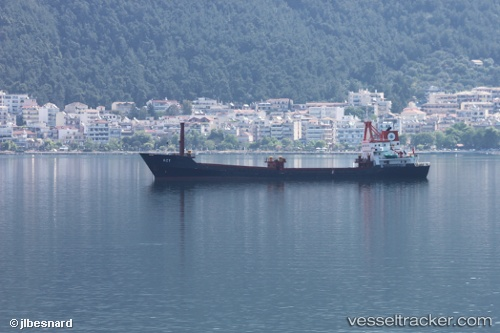 vessel Act IMO: 8206791, General Cargo Ship