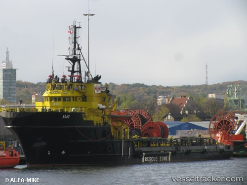 vessel Agat Zejt Iii IMO: 8206961, Offshore Tug Supply Ship