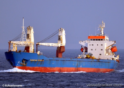 vessel Kapitan Ermakov IMO: 8517841, General Cargo Ship