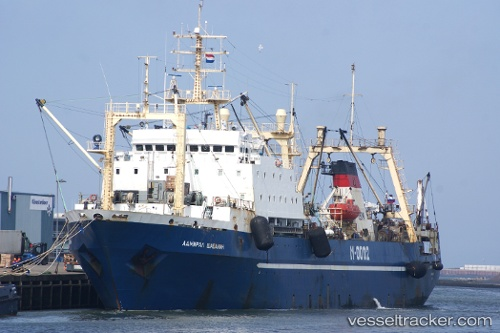vessel Admiral Shabalin IMO: 8607165, Fishing Vessel