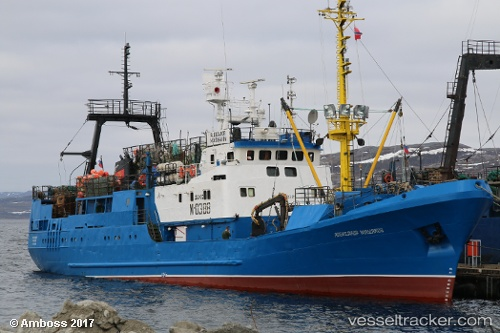 vessel A.mashakov IMO: 8842521, Fishing Vessel