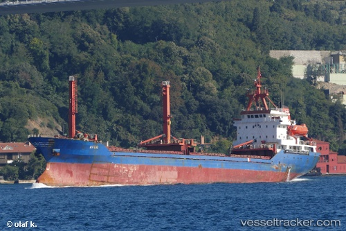 vessel Afer IMO: 8913332, Multi Purpose Carrier