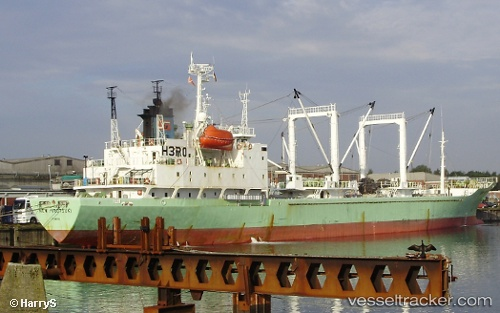 vessel Ice Wind IMO: 9003146, Refrigerated Cargo Ship