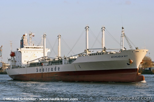 vessel Aconcagua Bay IMO: 9019652, Refrigerated Cargo Ship