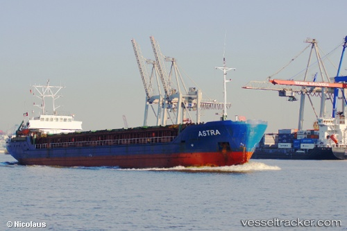 vessel A S T R A IMO: 9041318, Multi Purpose Carrier