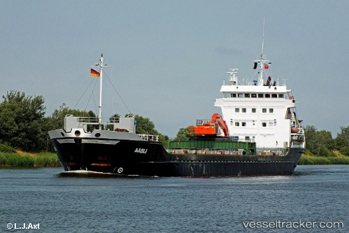 vessel Aasli IMO: 9060778, Deck Cargo Ship