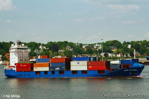 vessel Abanoz IMO: 9121857, Container Ship
