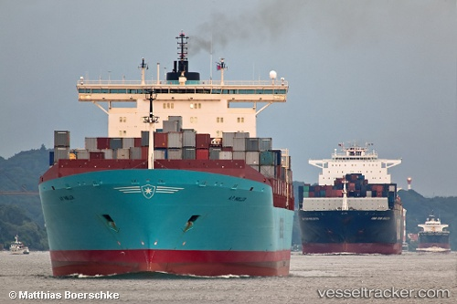 vessel A.p. Moller IMO: 9214898, Container Ship