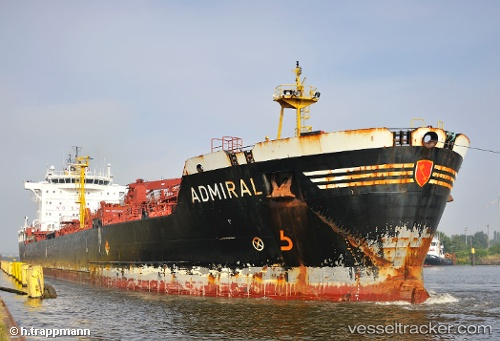 vessel Admiral IMO: 9234616, Chemical Oil Products Tanker