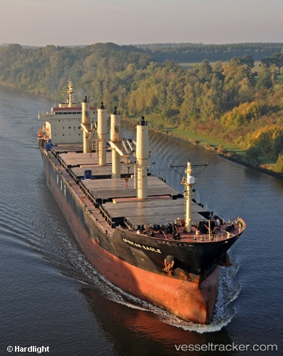 vessel African Eagle IMO: 9257046, Bulk Carrier
