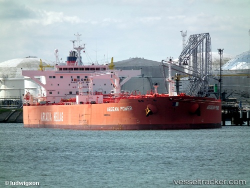 vessel Aegean Power IMO: 9338905, Crude Oil Tanker
