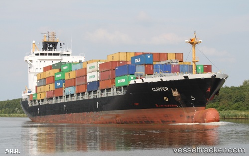 vessel A. Obelix IMO: 9354674, Container Ship