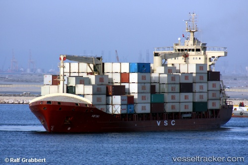 vessel Abtin1 IMO: 9379636, Container Ship