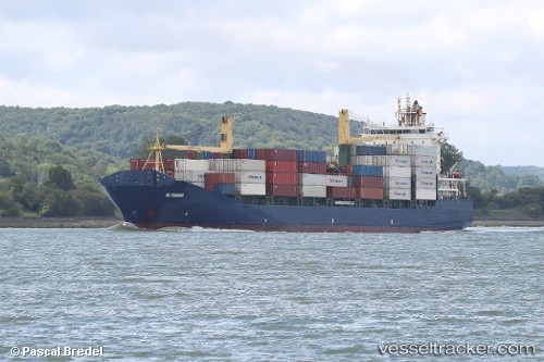 vessel As Fabiana IMO: 9395109, Container Ship