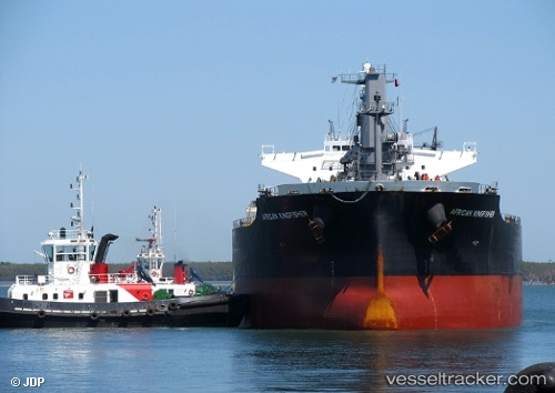vessel African Kingfisher IMO: 9420289, Bulk Carrier