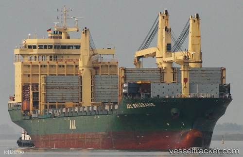 vessel Aal Brisbane IMO: 9498341, Multi Purpose Carrier