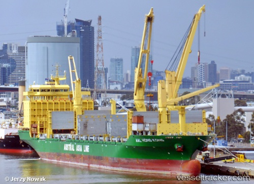 vessel Aal Hong Kong IMO: 9498468, Multi Purpose Carrier
