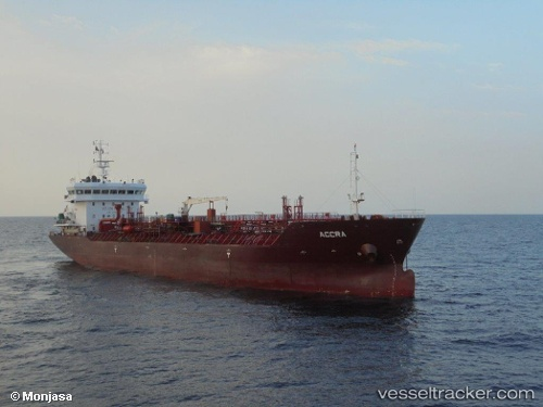 vessel Accra IMO: 9498975, Chemical Oil Products Tanker