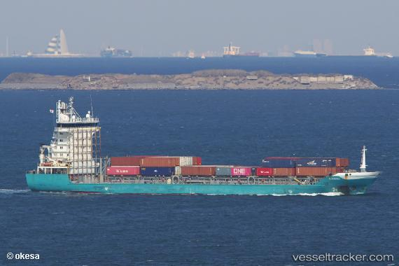 vessel Acacia Ming IMO: 9505522, Container Ship