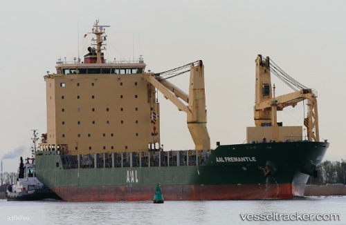 vessel Aal Fremantle IMO: 9521095, Multi Purpose Carrier