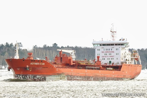 vessel Adfines Star IMO: 9580974, Chemical Oil Products Tanker