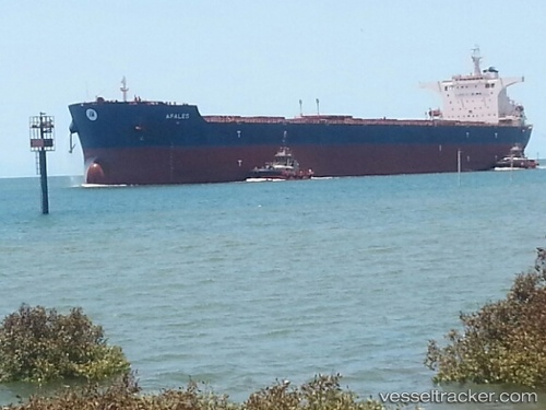 vessel Afales IMO: 9619555, Bulk Carrier