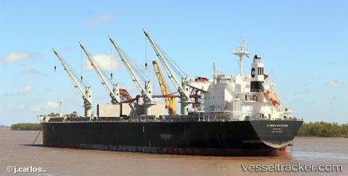 vessel African Cheetah IMO: 9636462, Bulk Carrier