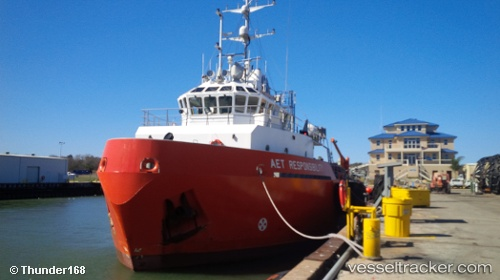 vessel Aet Responsibility IMO: 9643520, Offshore Tug Supply Ship