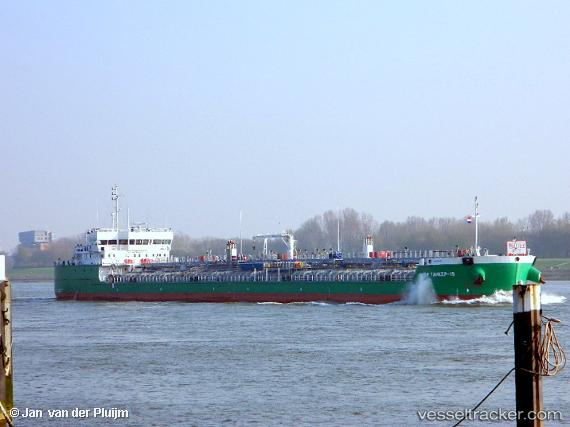 vessel Vf Tanker 15 IMO: 9645047, Oil Products Tanker