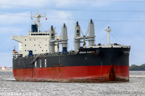 vessel African Wagtail IMO: 9649043, Bulk Carrier