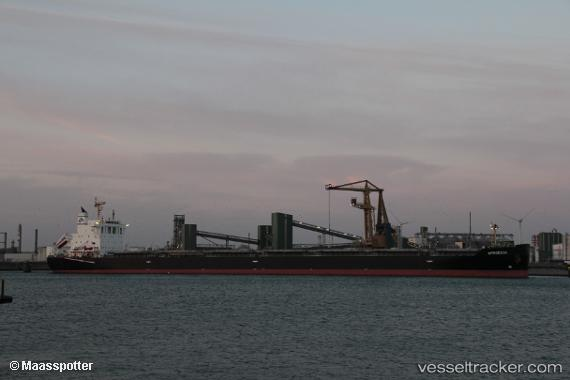 vessel Afroessa IMO: 9666522, Bulk Carrier
