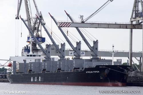 vessel African Piper IMO: 9692777, Bulk Carrier