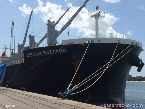 vessel African Buzzard IMO: 9720225, Bulk Carrier