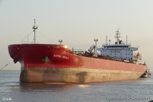 vessel Hafnia Mikala IMO: 9732709, Chemical Oil Products Tanker