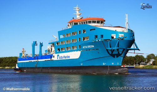 vessel Acta Orion IMO: 9750268, Offshore Support Vessel